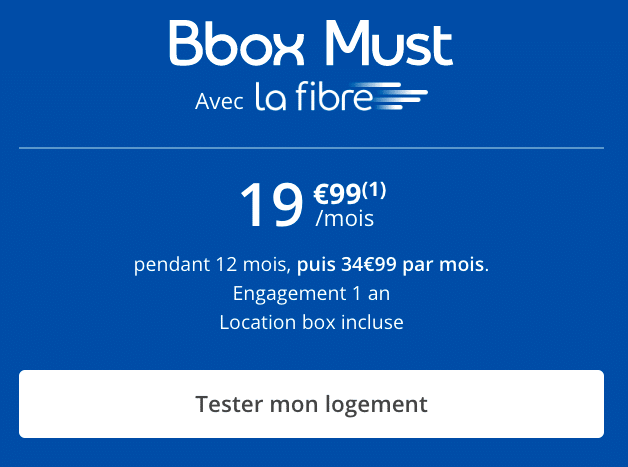 La Bbox Must de Bouygues Telecom