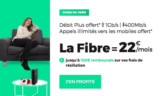 Box fibre optique en promotion chez RED by SFR.
