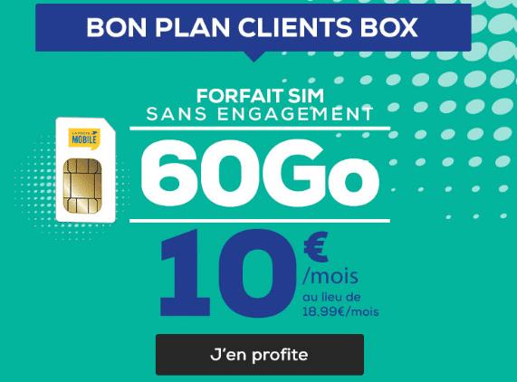 Forfait 4G pas cher chez La Poste Mobile.