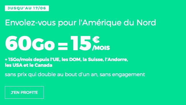 Forfait mobile RED by SFR avec 60 Go de data en promo.