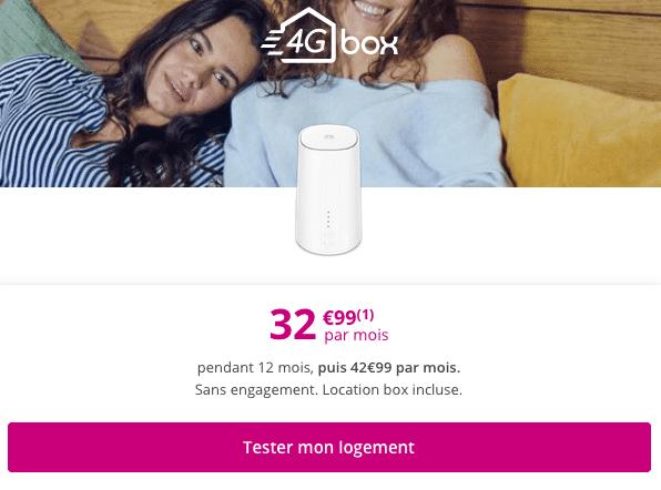 Appareil de navigation via le réseau mobile en promo chez Bouygues Telecom.