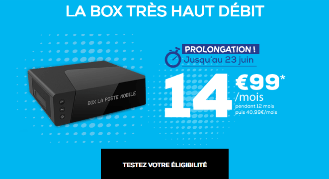 Box internet très haut débit pas chère.