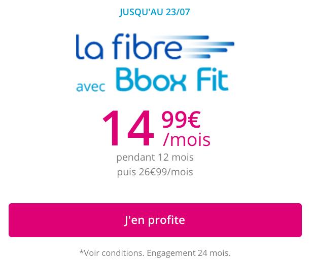La box de Bouygues en promo