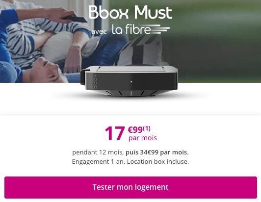 Bbox Must promo Bouygues Telecom avec Netflix.