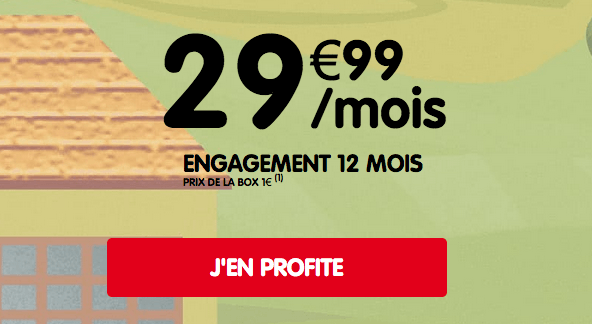 Promo NRJ Mobile box internet via la 4G.
