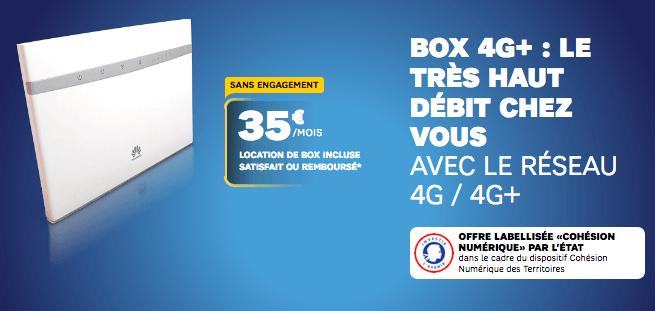 SFR aide état box 4G.