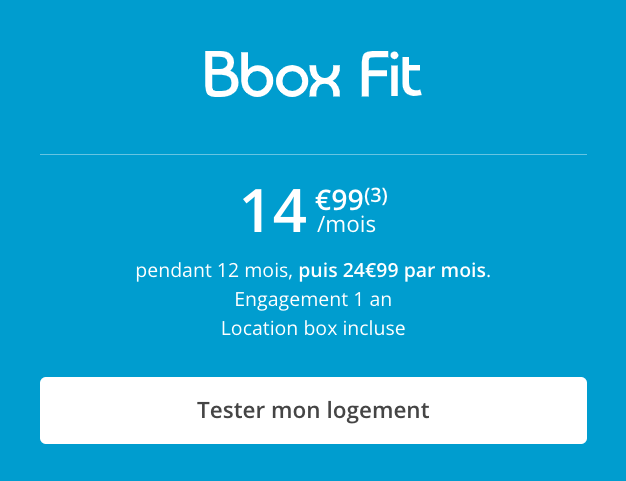 La box ADSL de Bouygues Telecom