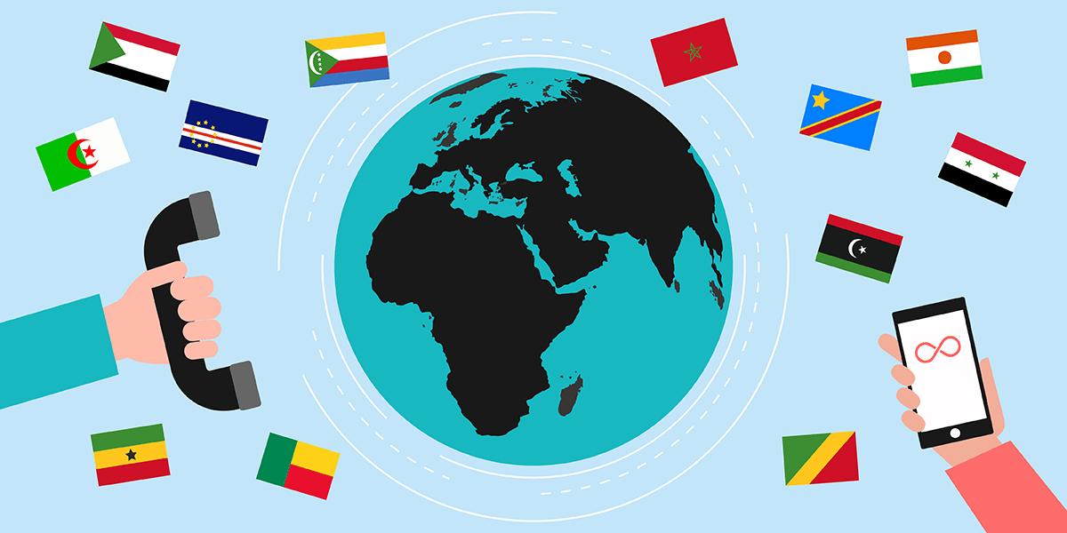 Box internet avec appels à l'étranger
