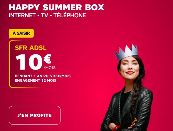SFR box 10€