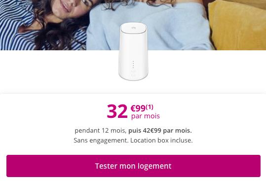 Bouygues Telecom box 4G en promo.