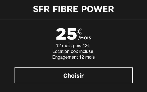 box power de SFR