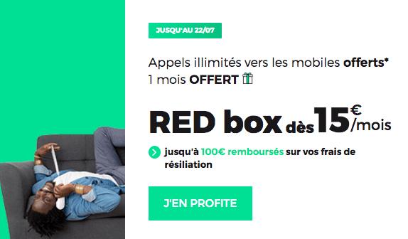 Promo RED Box ADSL pas chère.