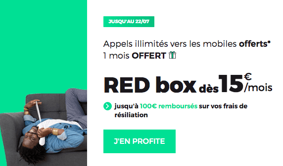 RED Box pas chère chez RED by SFR.