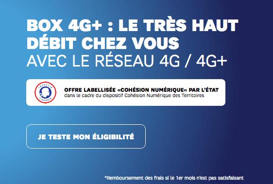 SFR promo box internet réseau mobile.