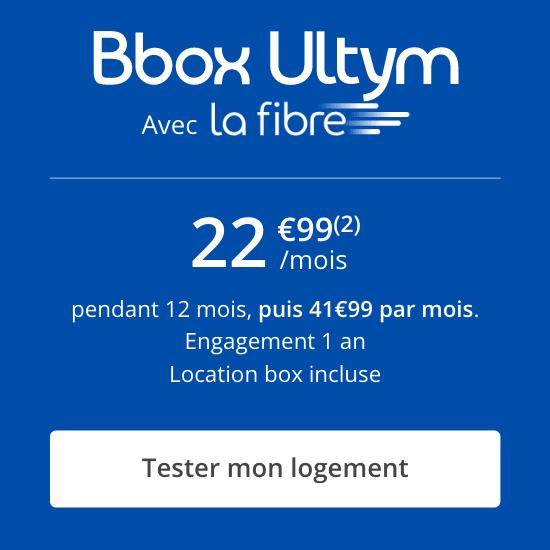 La Bbox fibre de Bouygues.