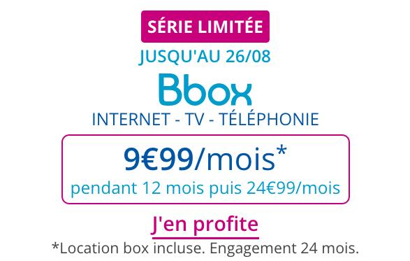 Box internet ADSL pas chère disponible en promo chez Bouygues Telecom.