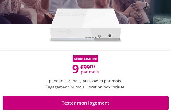Box ADSL pas chère à saisir chez Bouygues Telecom.