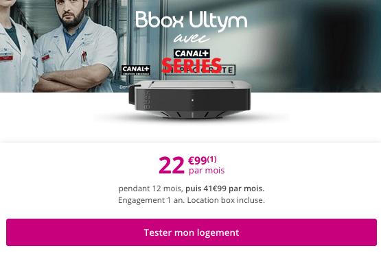 box internet avec bouquet TV en promo chez Bouygues.
