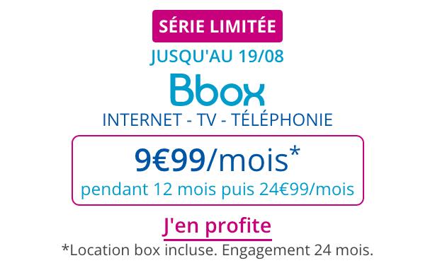 Série Limitée Bouygues Telecom promotion.