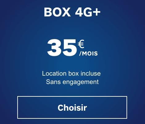 La box 4G de SFR.