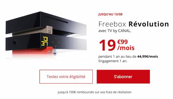 La dernière box internet en promo de Free