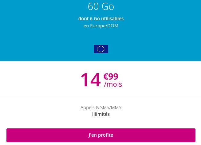 Forfait 4G pas cher chez Bouygues.