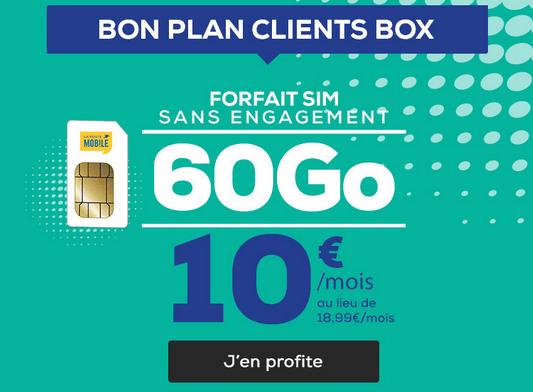 Promo box internet + forfait chez La Poste Mobile.