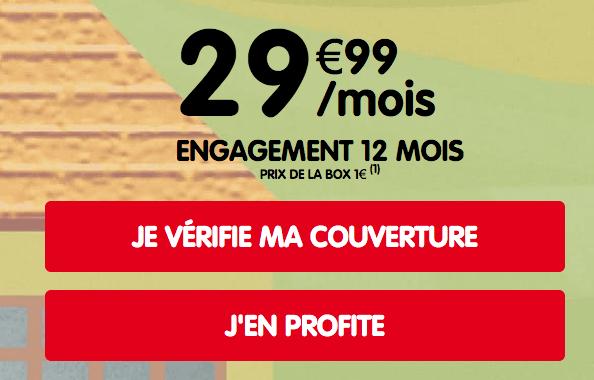 NRJ Mobile promo box 4G.