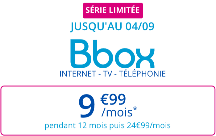 La box ADSL de Bouygues en promo.