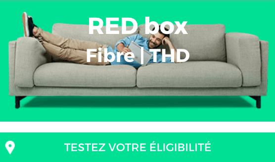 La fibre optique à petit prix avec la box internet RED by SFR