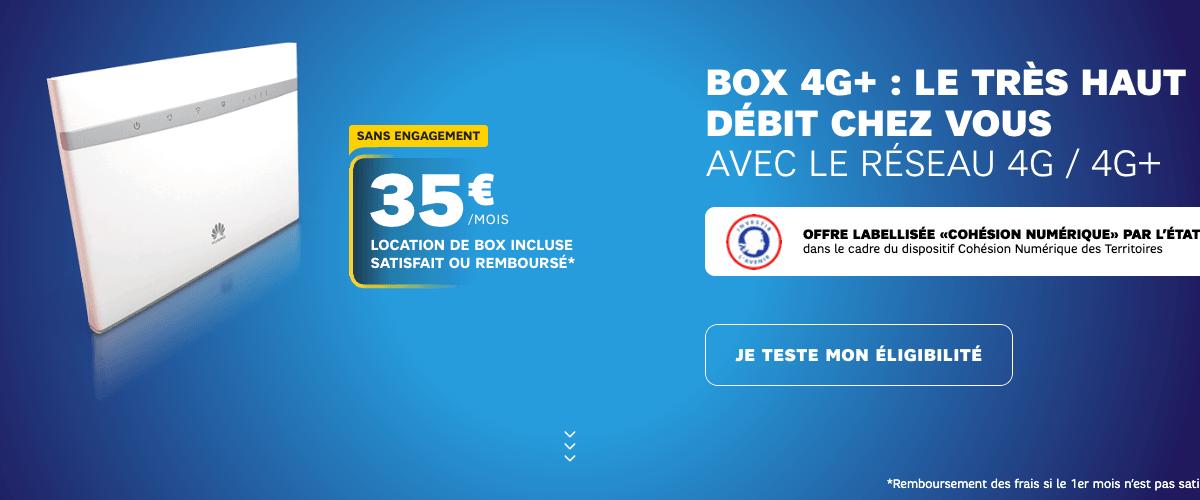 L'offre 4G de SFR pour 35€ par mois