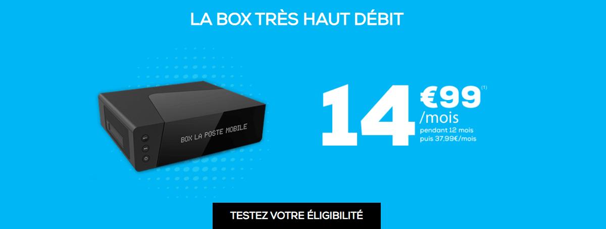 box THD la poste Mobile
