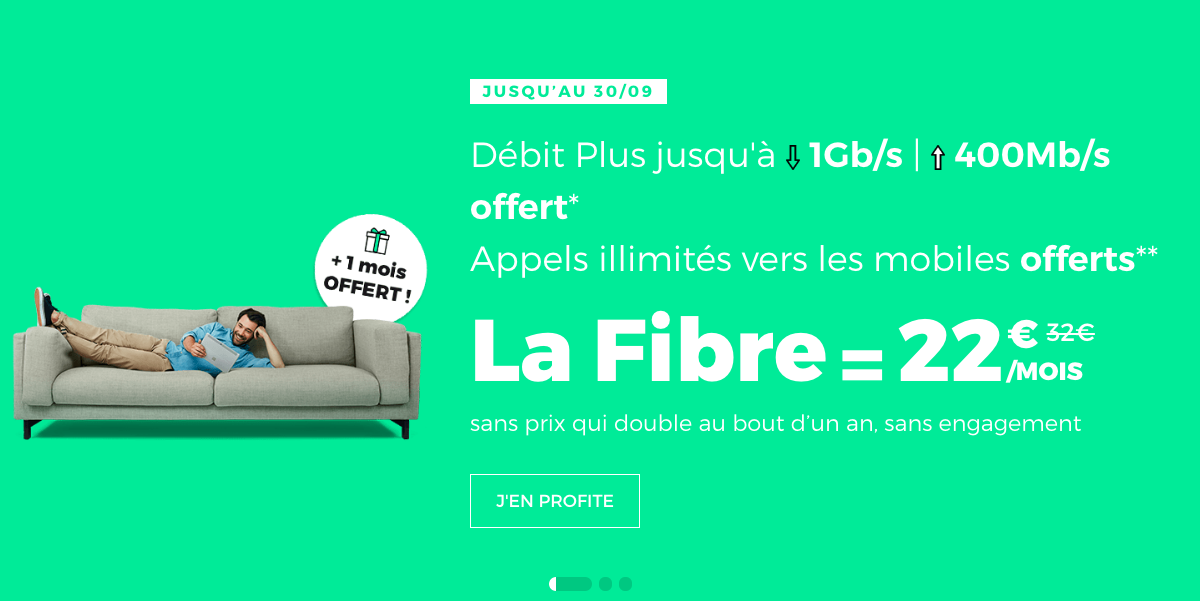 la box internet fibre de RED by SF