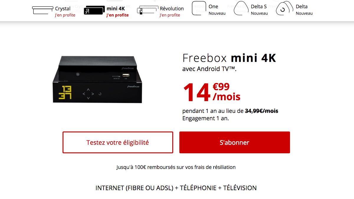 Box internet en promo chez Free.