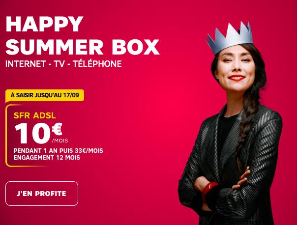 Happy summer box de sfr
