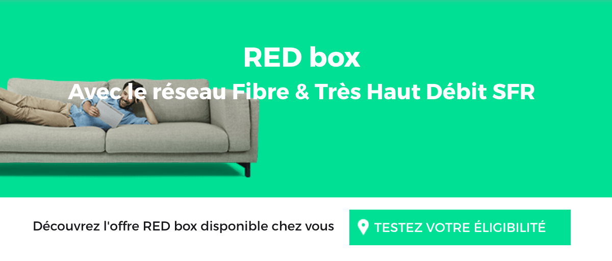 RED Box promo RED by SFR.