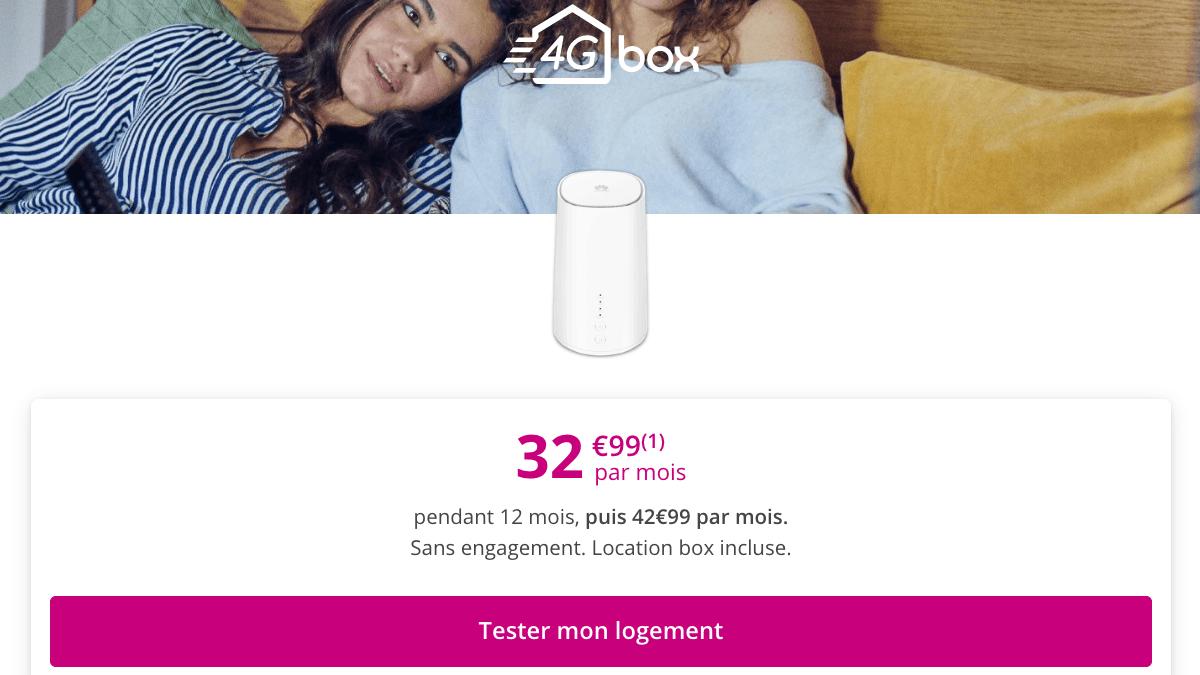 4G Box Bouygues Telecom.