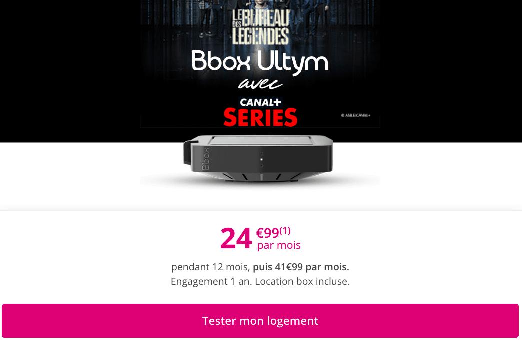 le forfait box internet premium de Bouygues Telecom