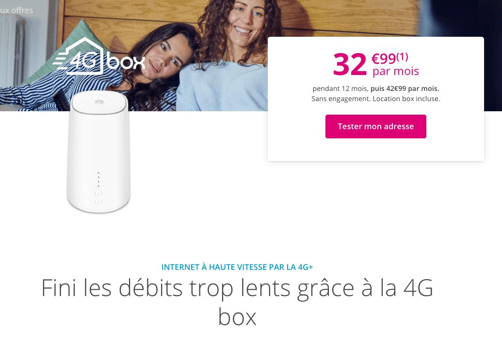la 4G box de Bouygues