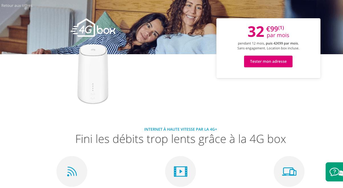 abonnement box 4G de Bouygues