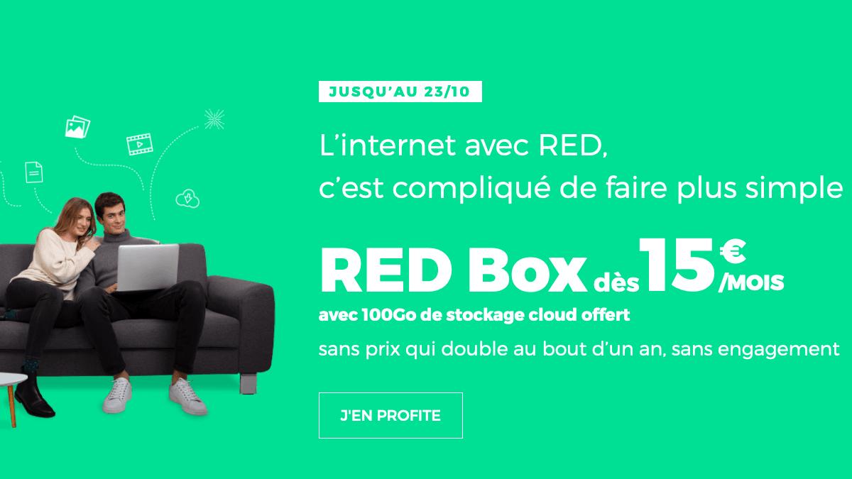 RED Box ADSL pas chère.
