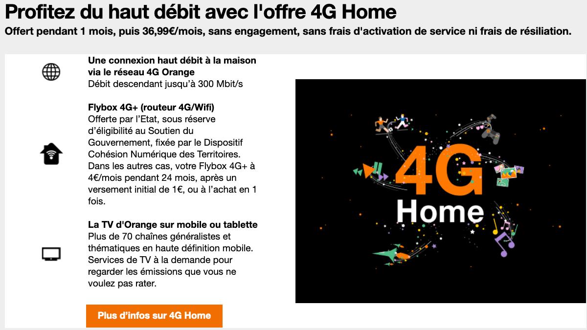 4G Home d'Orange.