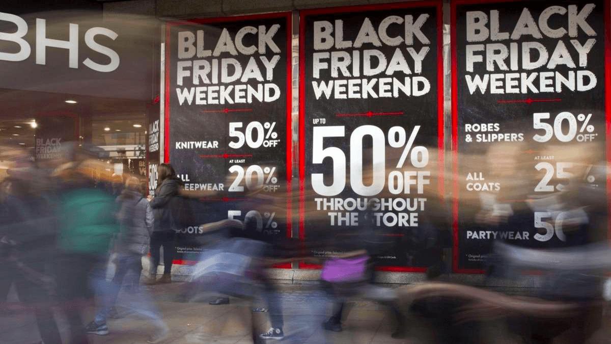50% de réduction dans certains magasins.