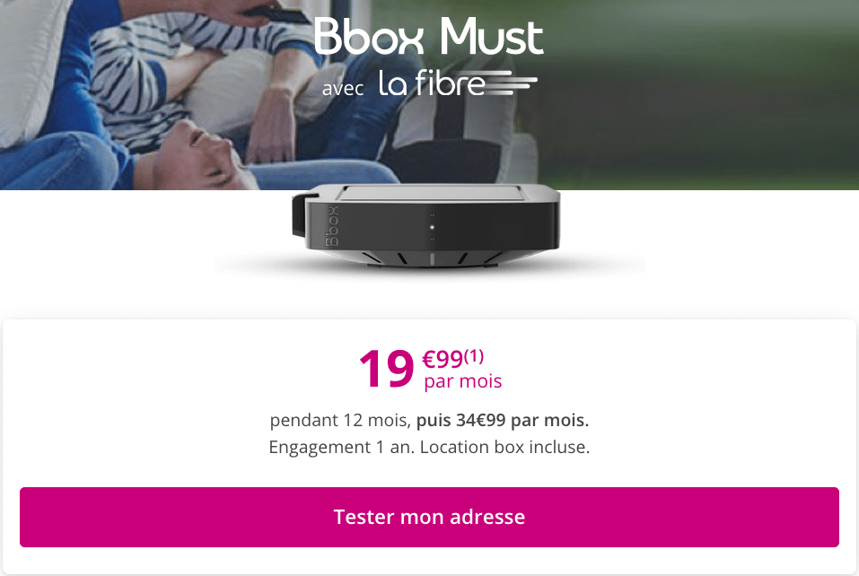 la box internet de Bouygues Telecom