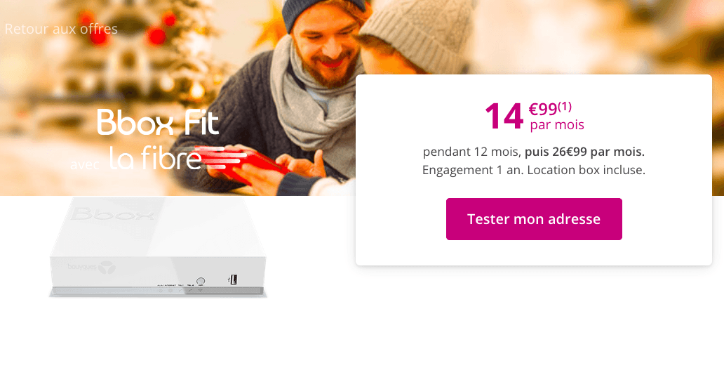 l'abonnement box internet de Bouygues