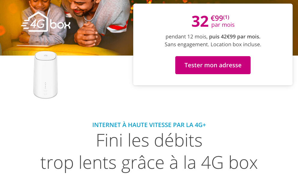 la box 4G de Bouygues