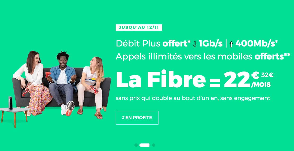 la fibre optique de RED by SFR