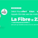1 mois offert sur l'abonnement box fibre optique 1 Gb/s à 22€ de RED by SFR