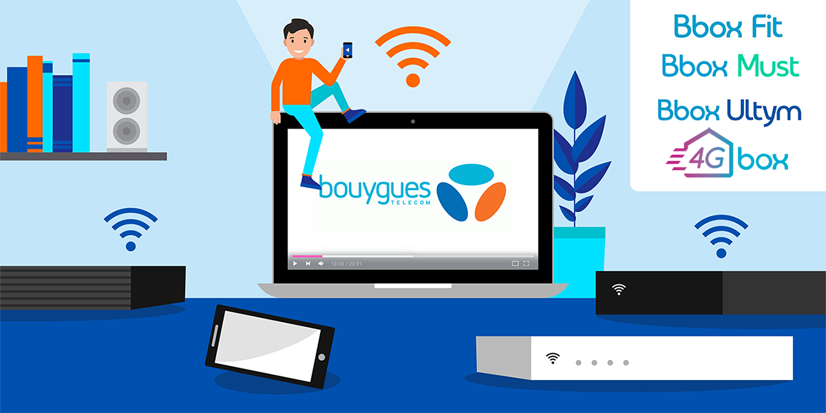 Les box internet Bouygues Telecom.