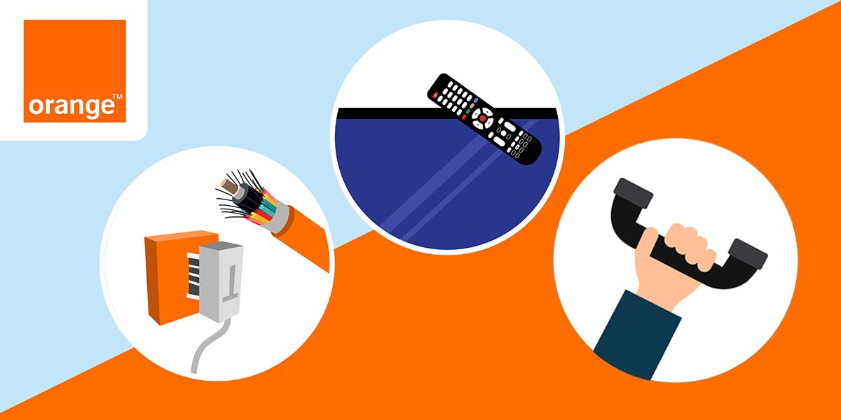 Les services complémentaires des box internet Orange.